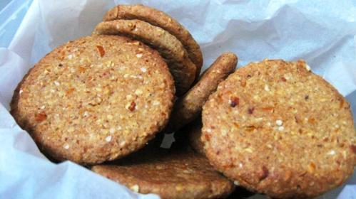 Biscotti quinoa e arance