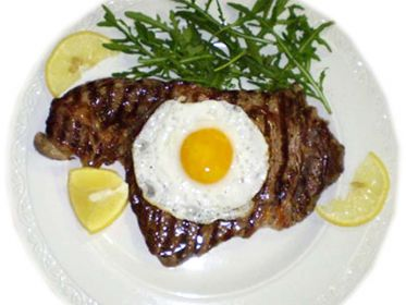 Bistecca alla Bismarck