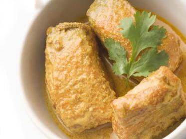 Branzino o spigola al curry