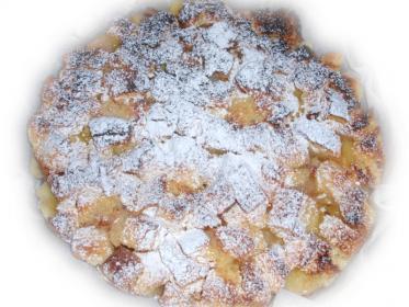 Crumble di mele e Pandoro