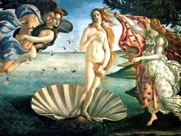 La nascita di Venere di Botticelli