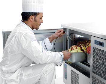 Abbattitore in gelateria