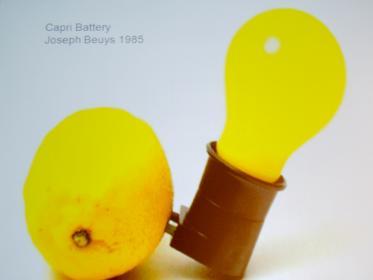 Capry Battery di Joseph Beuys