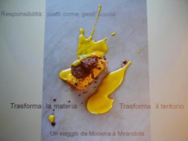 Bottura: i piatti come gesti sociali