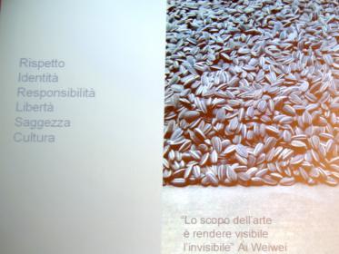 Semi di girasole fatti a mano: Massimo Bottura