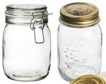 Coperchi per vasetti di vetro