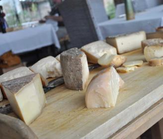 Il plateau dei formaggi