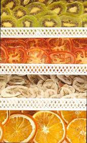 Frutta nell'essiccatore