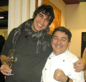 Lorenzo Santi con Giacomo Gallina a Identità Golose 2011