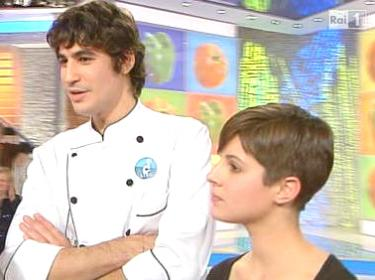 Lorenzo Santi con la moglie