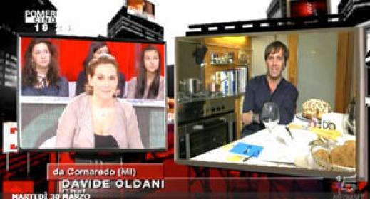 Davide Oldani a Pomeriggio 5