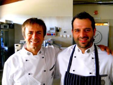 Armando Palmieri con Luca Montersino