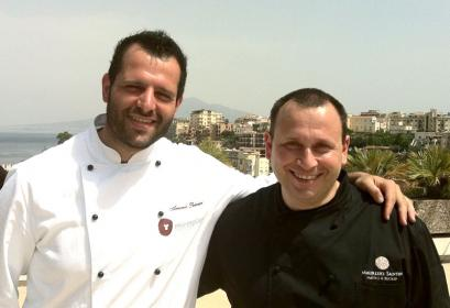 Armando Palmieri con Maurizio Santin