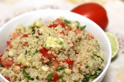 Quinoa: insalata