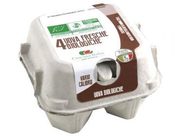 Uova bio marchio Cascina Italia Spa