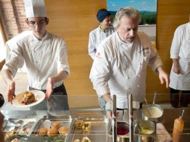 Scabin alla mensa dell'università di scienze gastronomiche di Pollenzo