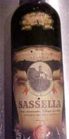 Bottiglia di vino Sassella