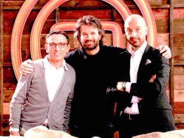 Bruno Barbieri, Carlo Cracco e Joe Bastianich