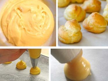 Pasta choux o pasta bignè