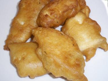 Pollo al cocco in tempura speziata