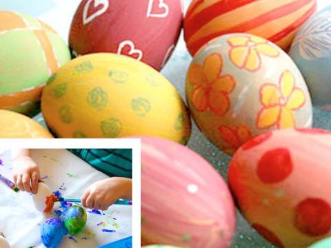 Come colorare e decorare le uova di Pasqua