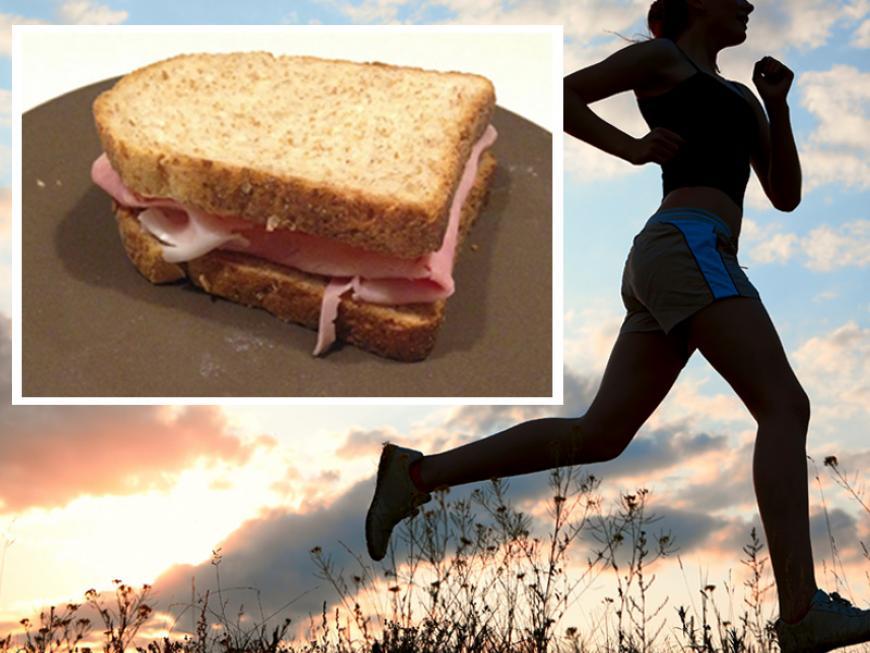 La colazione per chi corre