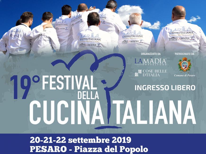 Festival cucina italiana 2019