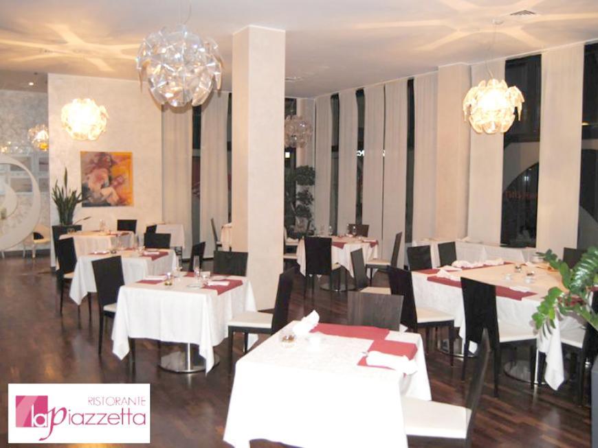 Sala del ristorante La piazzetta