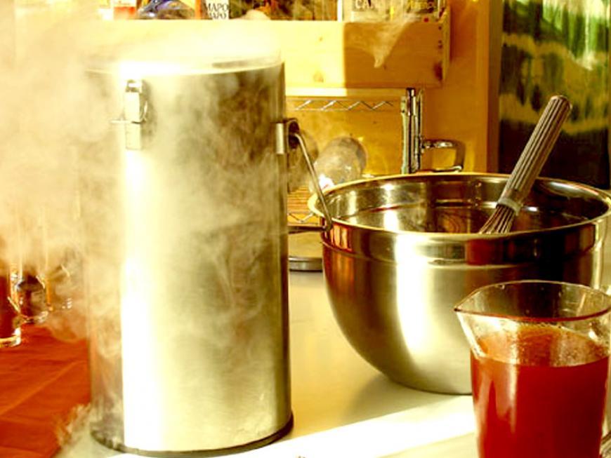 Gelato all'azoto liquido
