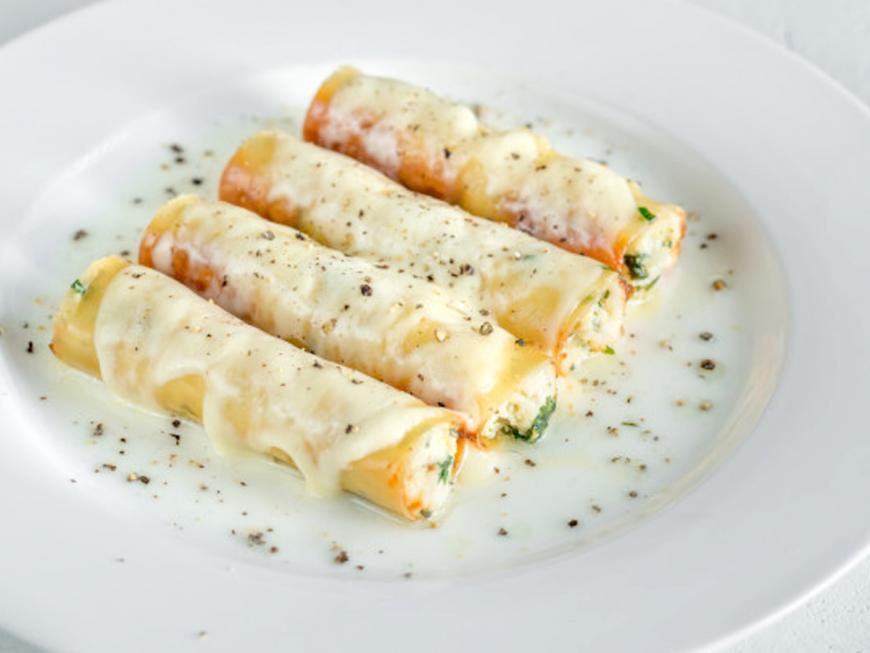 Ricetta cannelloni al salmone