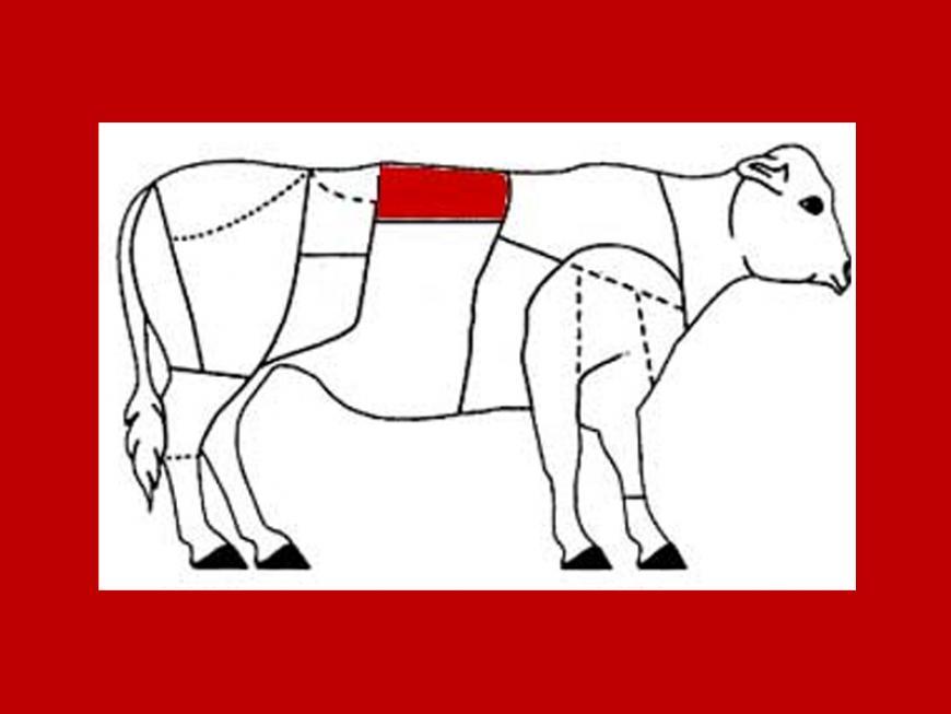 Carré di vitello