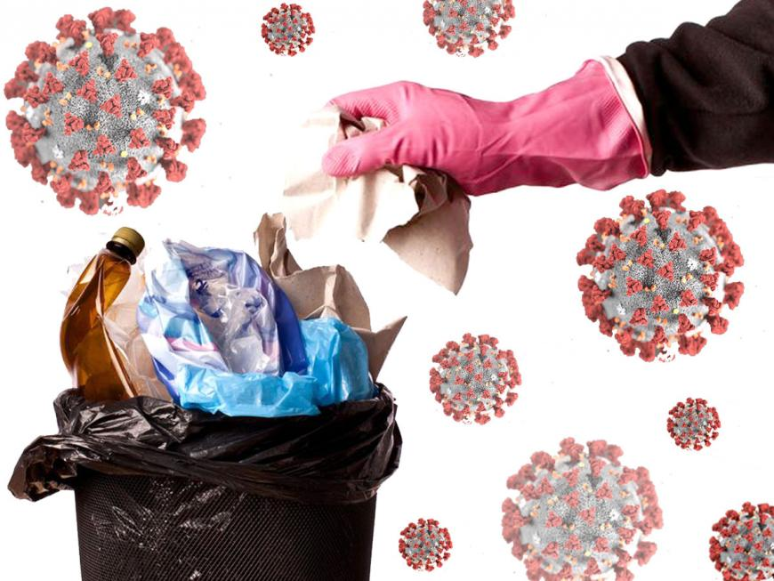 I rifiuti in tempo di Coronavirus