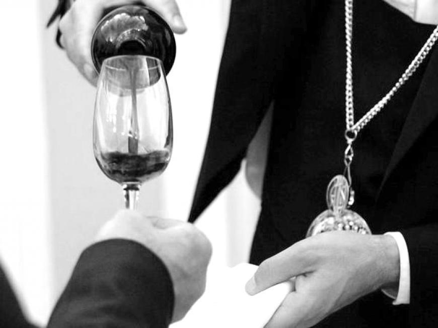 Degustazione del vino. La qualità.