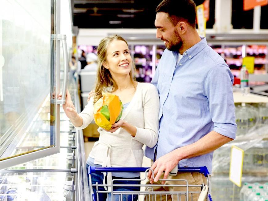 Covid: aumento vendite surgelati
