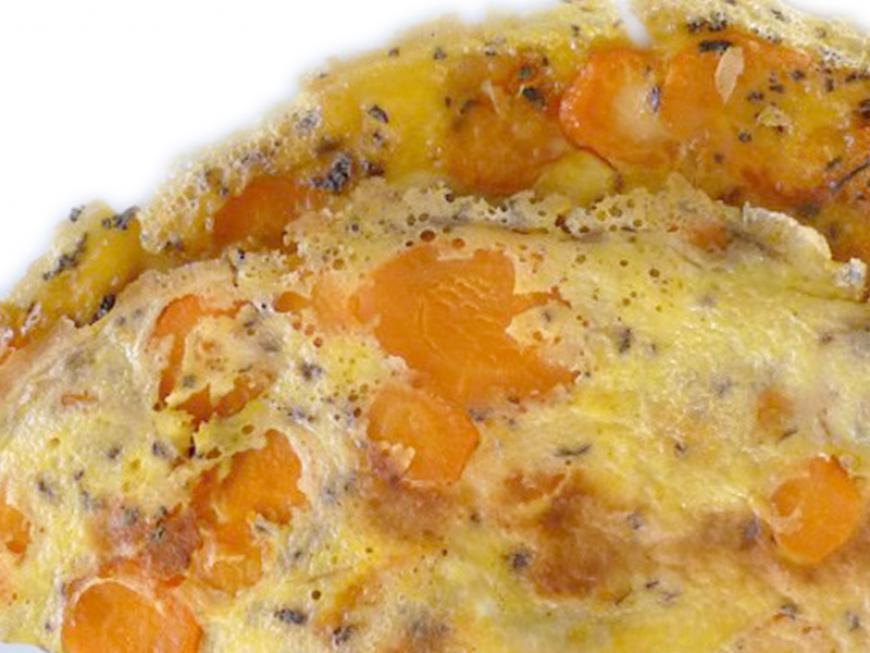Frittata alle carote