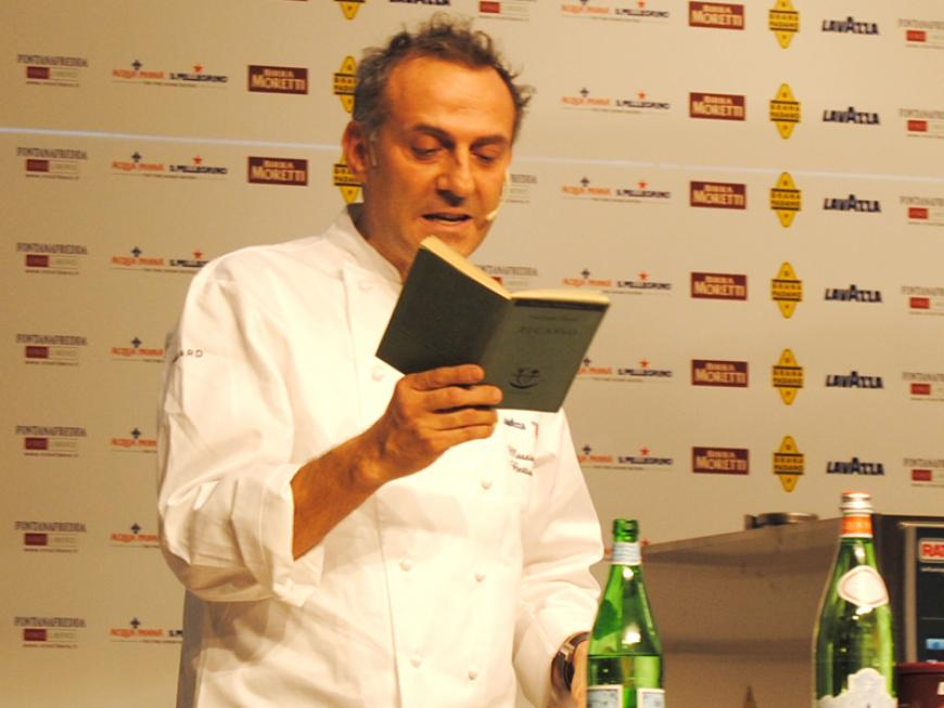 Massimo Bottura a Identità Golose 2013