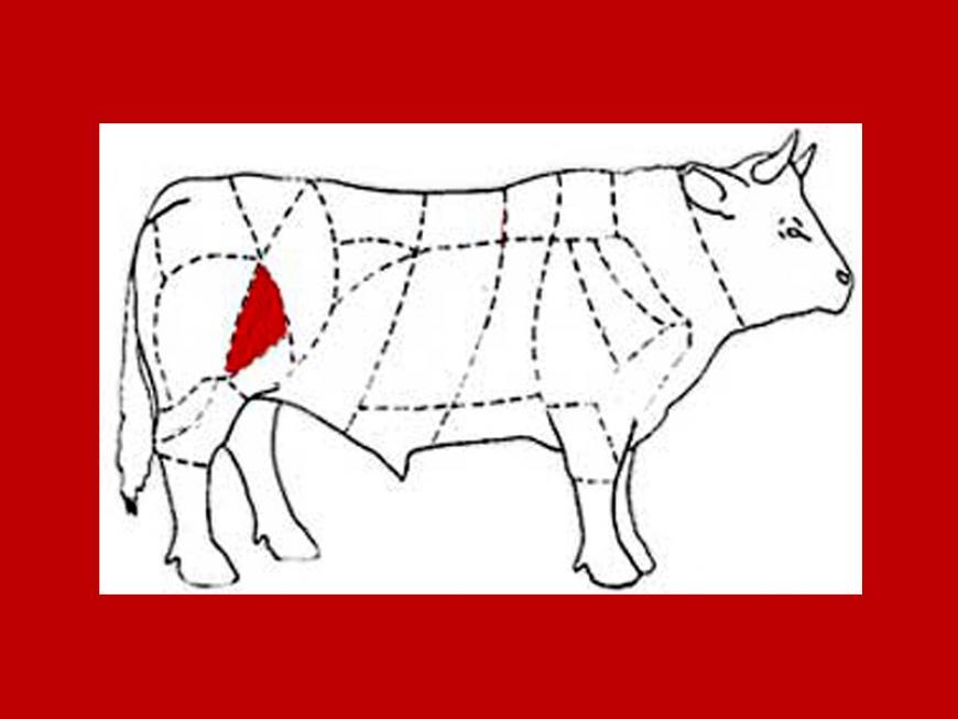 Noce o rosa (taglio carne bovina)