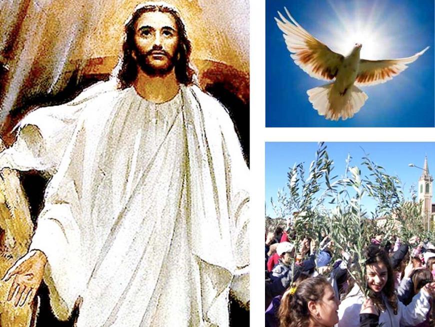 Simboli della Santa Pasqua cristiana