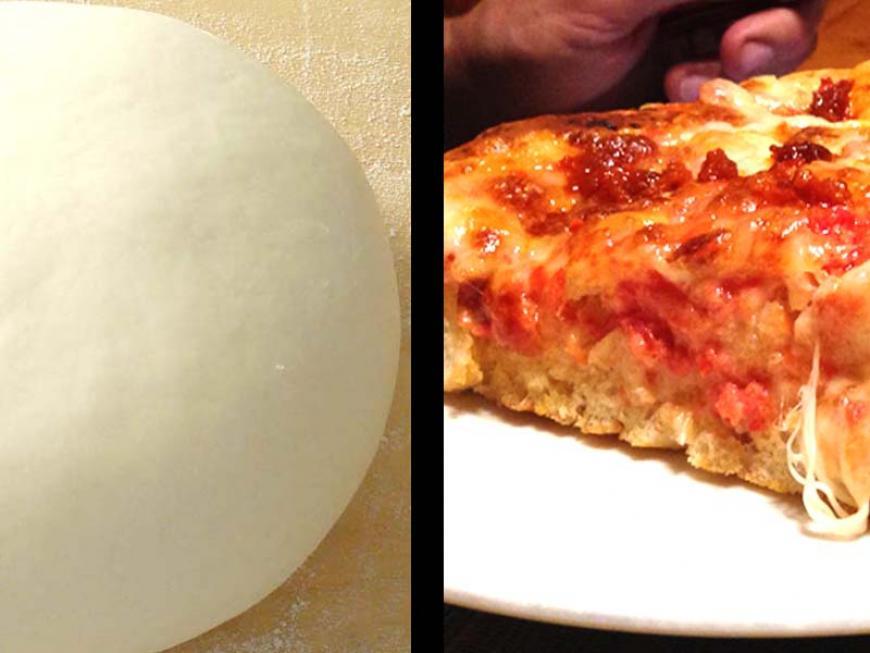Ricetta Pasta X Pizza Fatta In Casa.Come Si Fa La Pasta Per La Pizza Ricetta Di Sara Papa Alimentipedia It
