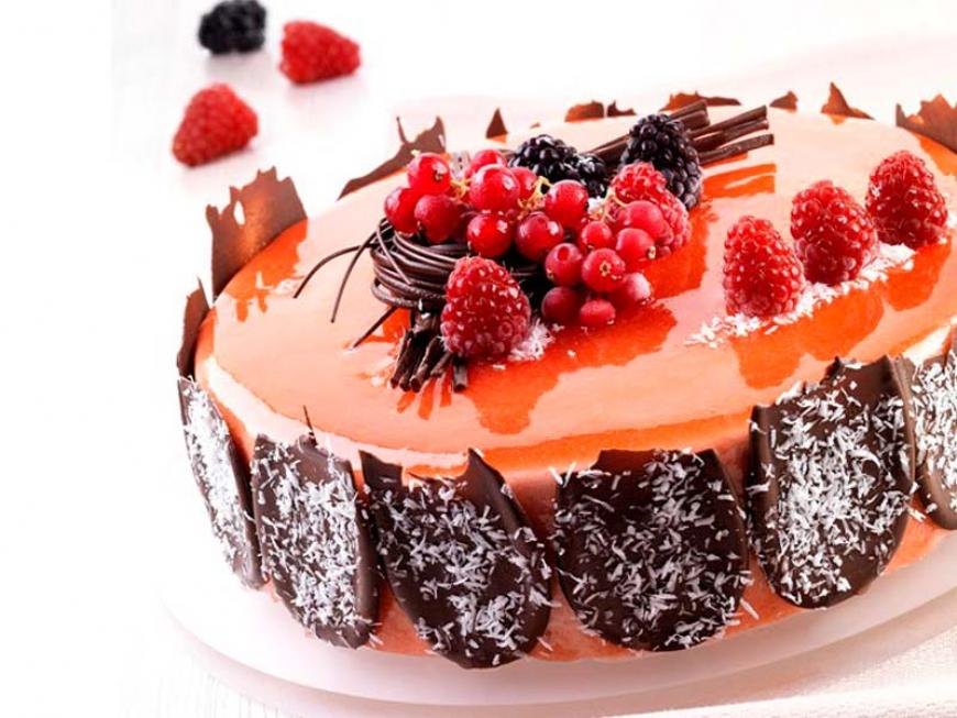 Torta pink light