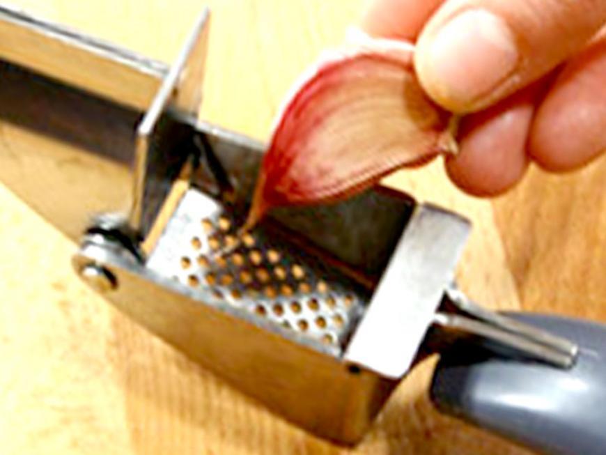 Utensili per l'aglio