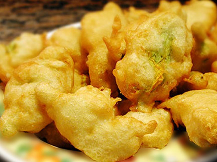 Verdure fritte in pastella