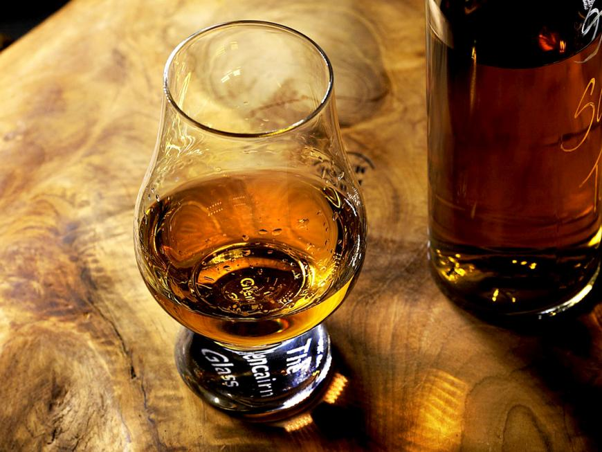 Bicchiere di Whisky o whiskey