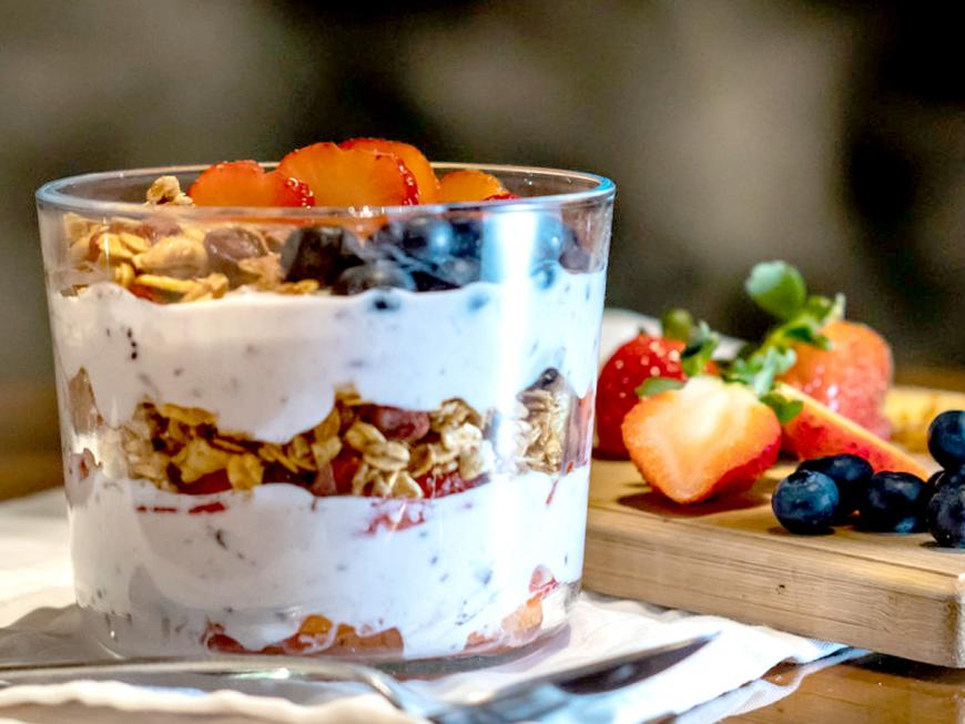Yogurt con probiotici