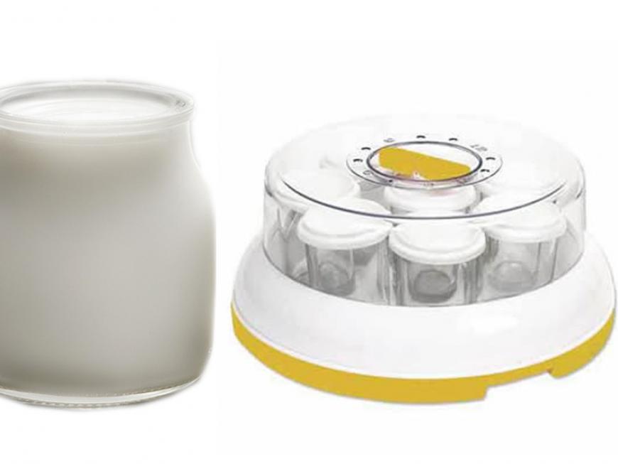 Fare lo yogurt con la yogurtiera