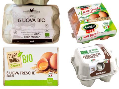 Altri 3 marchi di uova Bio da non consumare per sospetta contaminazione