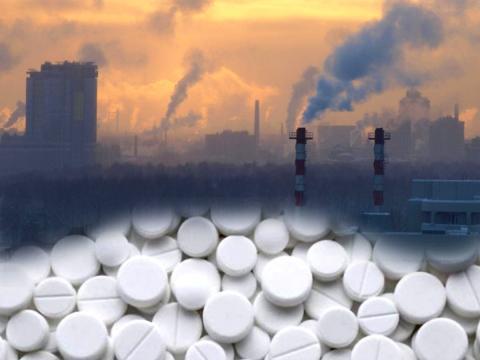 L'aspirina potrebbe ridurre i danni dell'inquinamento atmosferico