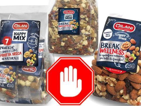 Attenzione ai Mix di frutta secca con bacche di goji. Pesticidi superiori ai limiti