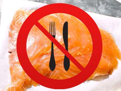 Attenzione anche al salmone norvegese affumicato di Unes, richiamato per possibile contaminazione da Listeria