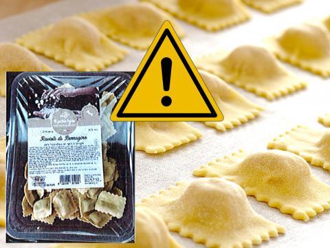 Attenzione: un lotto di Ravioli di borragine Il pastaio ligure richiamato a scopo precauzionale